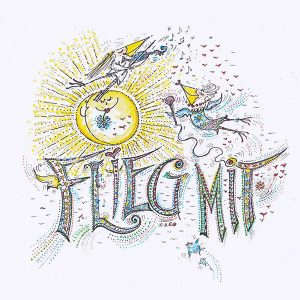 "CD-Cover ""Flieg mit"""