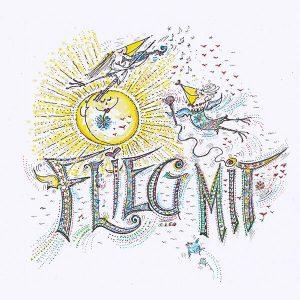 """CD-Cover """"Flieg mit"""""""